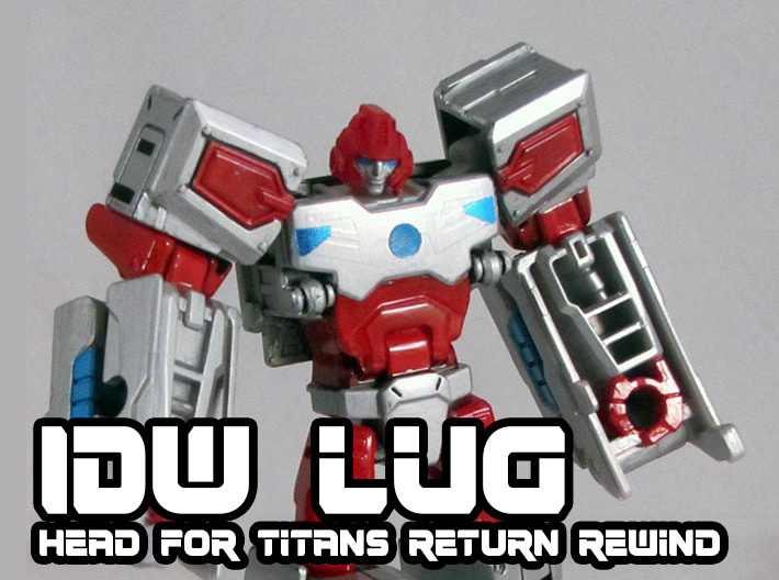 Lug Head for Titans Return Rewind 3d printed