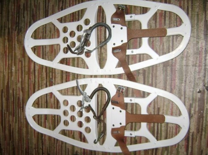 1/35 scale Norwegian Army military snowshoes x 20 3d printed