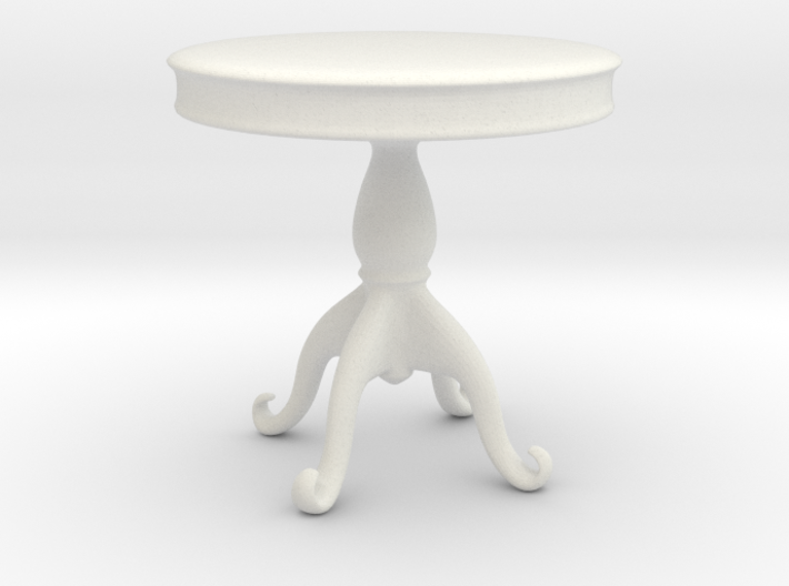 Printle Thing Baroque Table 1/24 3d printed