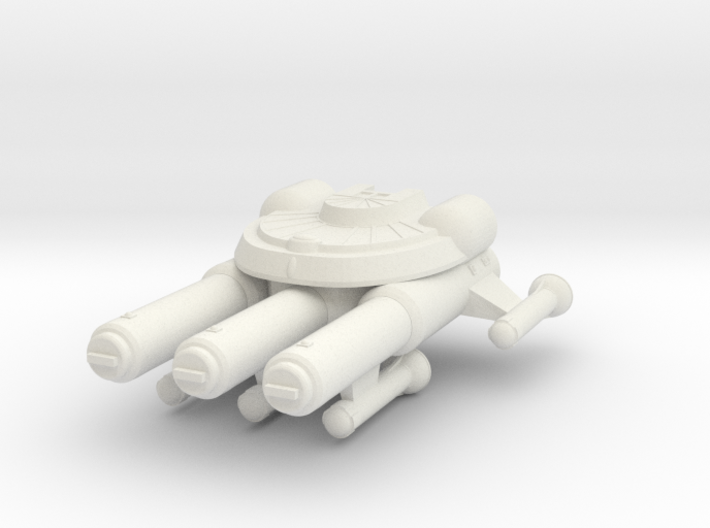 3788 Scale Seltorian New Light Cruiser (NCL) MGL 3d printed