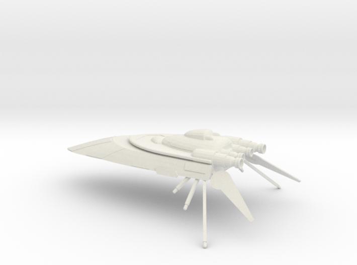 Hutt Cartel Yacht 3d printed