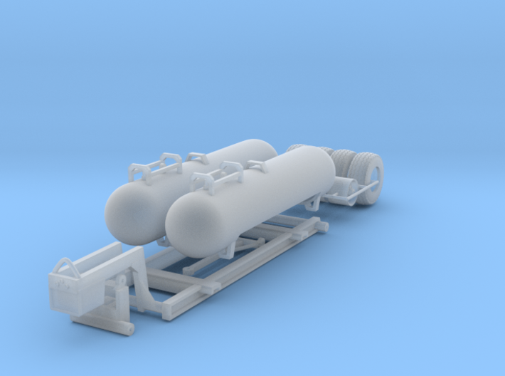 1/64 NH3 Twin Tanks and Caddie 3d printed