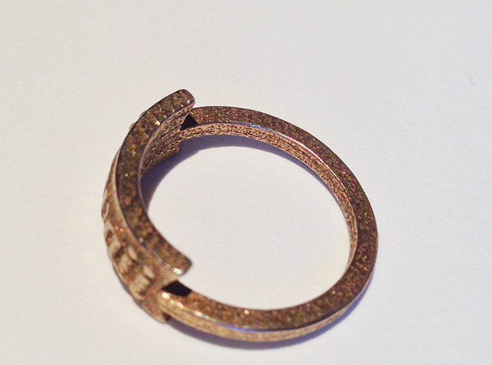 Kawaii Ring 3d printed