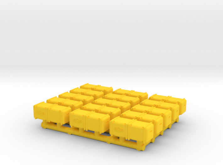 Bunker-Tec Storage Container Pack 3 3d printed