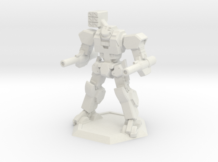 Mecha- Axe (1/285th) 3d printed