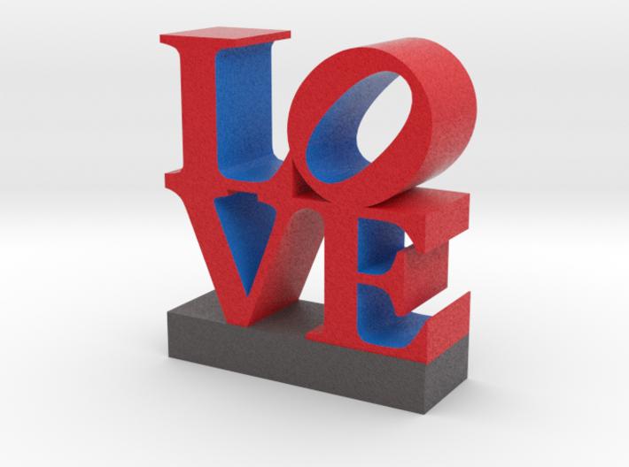 Love Sculpture - larger version 091517 3d printed