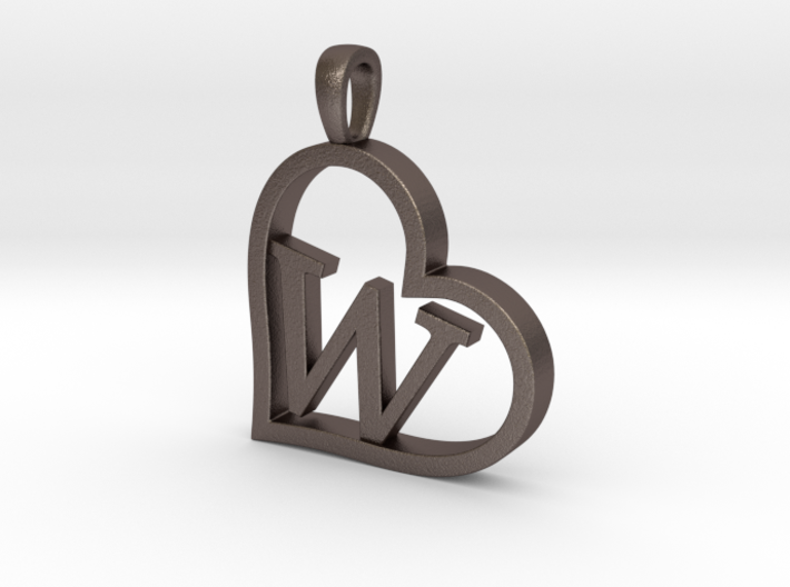 Alpha Heart 'W' Series 1 3d printed