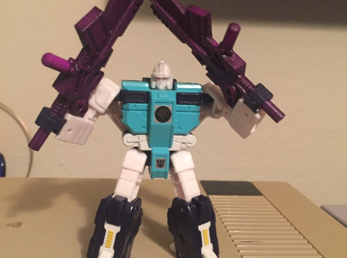 Titans Return Pounce Weapons 3d printed