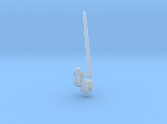 1/96 scale Aft Antenna - Single Right side 3d printed