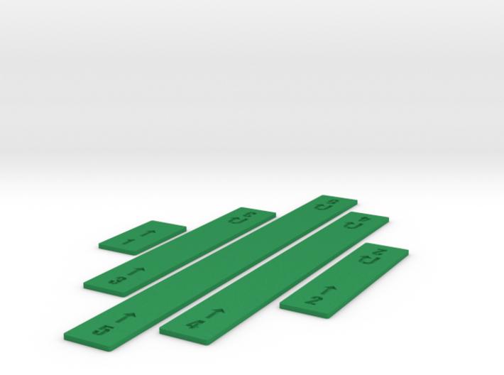 Customizable Straight Movement Sticks 3d printed
