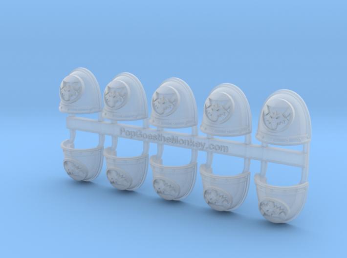 Night Wolf - Gen3:Ferrum Shoulder x10 3d printed