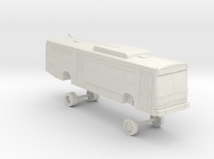 HO Scale Bus Neoplan AN440 LACMTA 4500s 3d printed