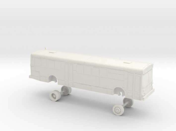 HO Scale Bus New Flyer C40 MTS 2000s 3d printed