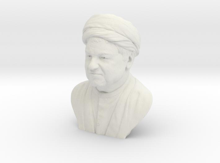 Hollow of Akbar Hashemi Rafsanjani 3d printed