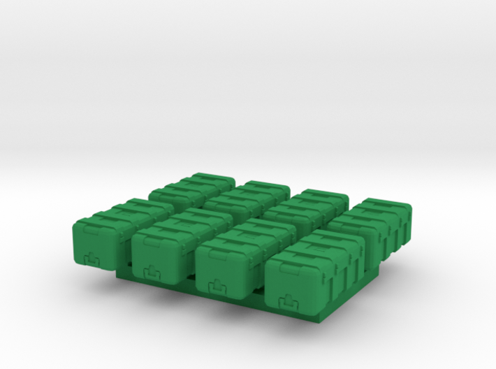 1/87 Scale Equipment Cases x8 3d printed