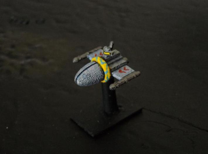 SSA102 Chariot Frigate 3d printed Painted model