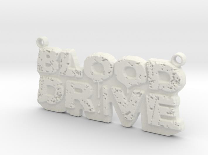 Blood Drive Pendant 3d printed