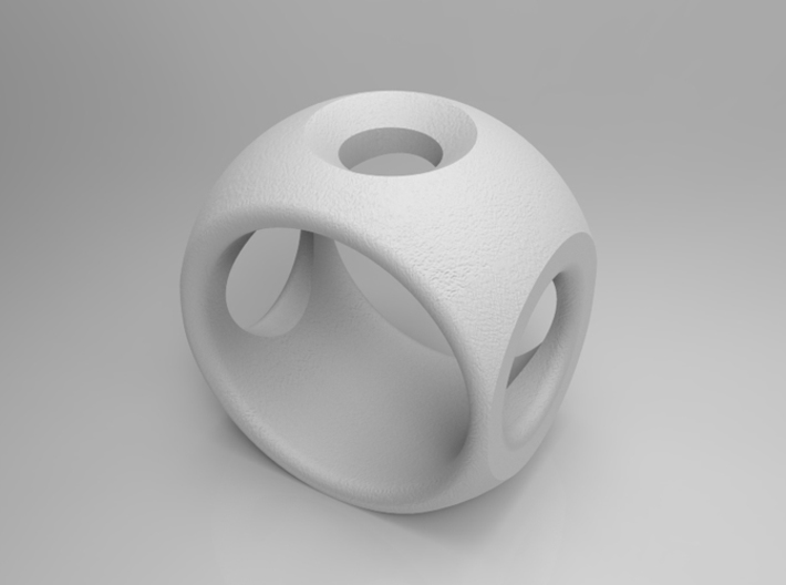 RING SPHERE 2 - SIZE 8 3d printed
