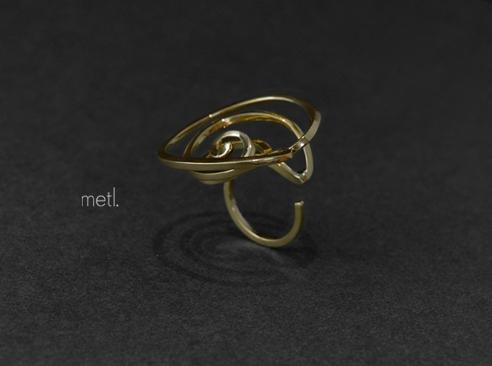 Stay lost | Be found - Ring 3d printed