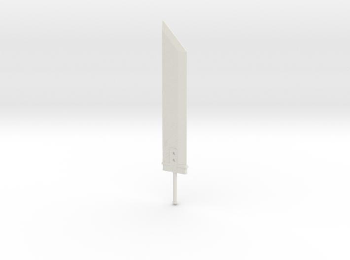 Miniature Buster Sword - Final fantasy 7 3d printed