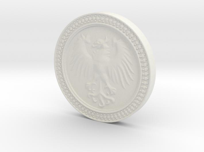 Eagle Medal 3d printed