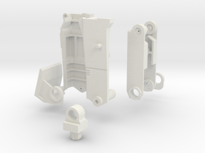 Ko Os Superion Improved Right Thigh 3d printed