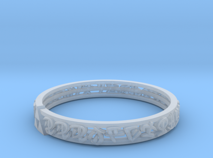 Hylian Ring 3d printed