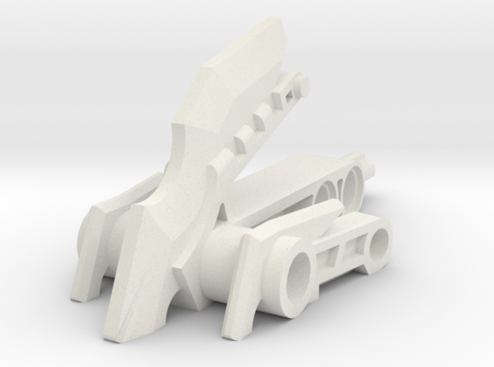 Clawed Mata Foot Extension 3d printed
