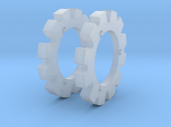 1:32 Axion 900 Radgewichte 3d printed