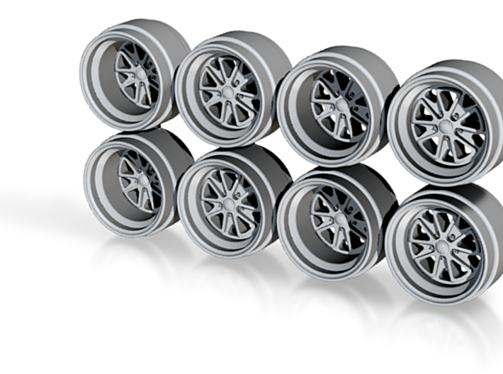 OL Fuchs Hot Wheels Rims 9mm 3d printed