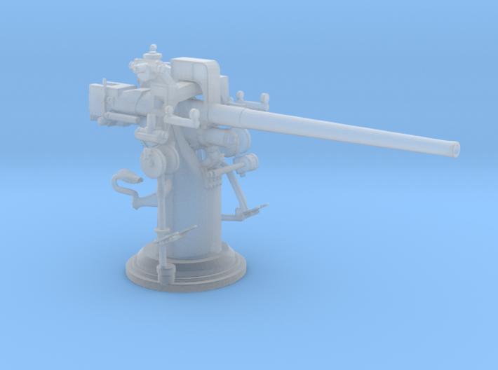 1/72 USN 3 inch 50 cal USN Deck Gun 3d printed