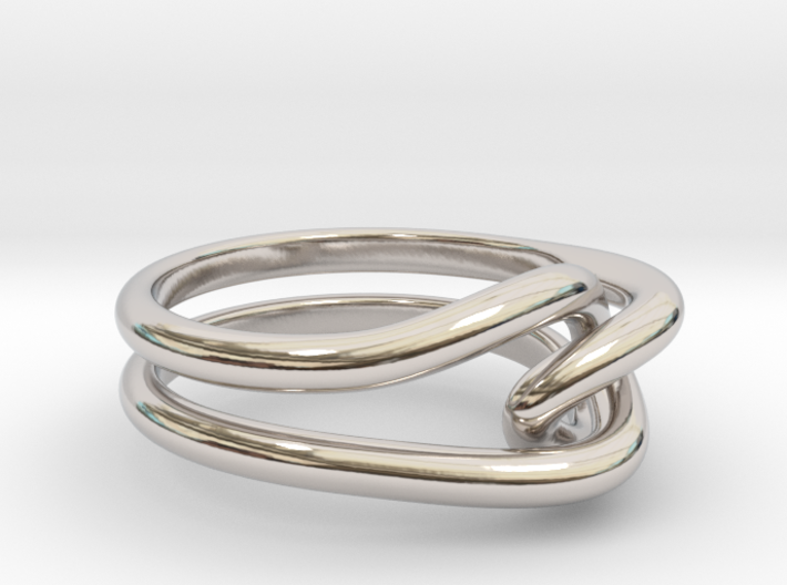 Whitehead ring (US sizes 5.75 – 9.75) 3d printed