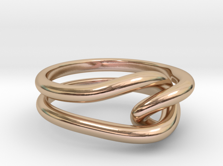 Whitehead ring (US sizes 10 – 13) 3d printed
