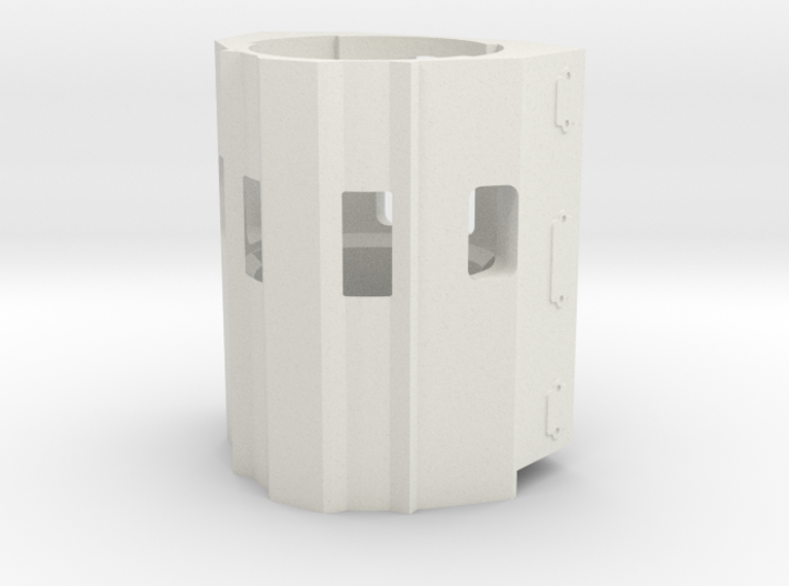scale 350 engine - Scale 350 Block-1 3d printed