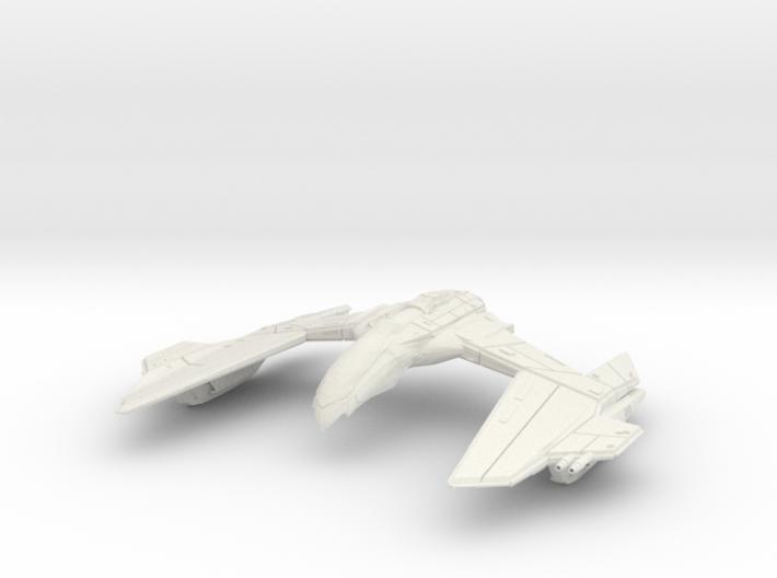 Romulan GunHawk Class A WarCruiser 3d printed