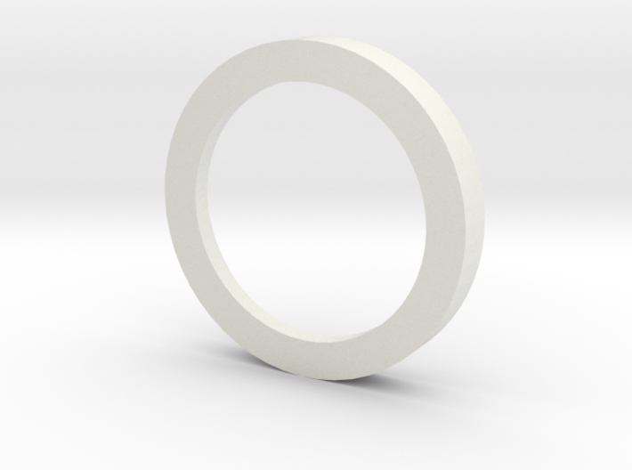Ring for suction elbow D=800 1:100 3d printed