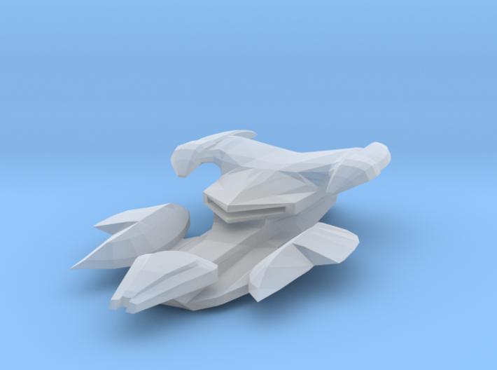 Jem'hadar SuperCarrier-class Warship 75mm 3d printed