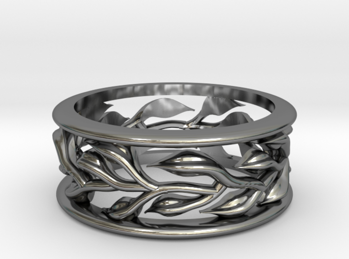 Vine Ring - Size 6.5 3d printed