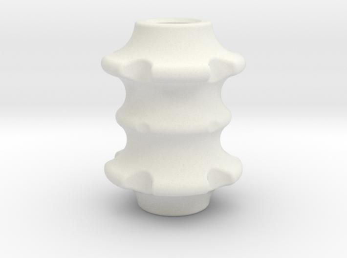 Bone/Spine Lanyard Bead 3d printed