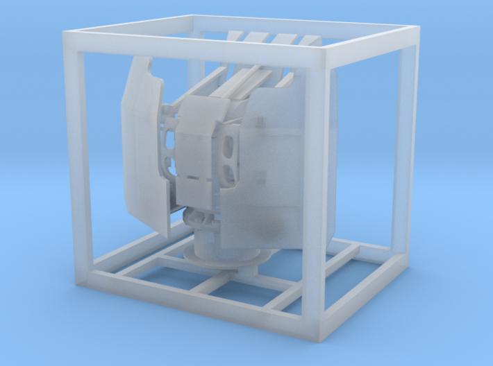 1:100 20mm Vierling mit Öffnung für Messingrohre 3d printed