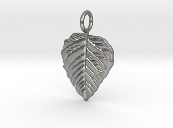 Metal Leaf 3d printed