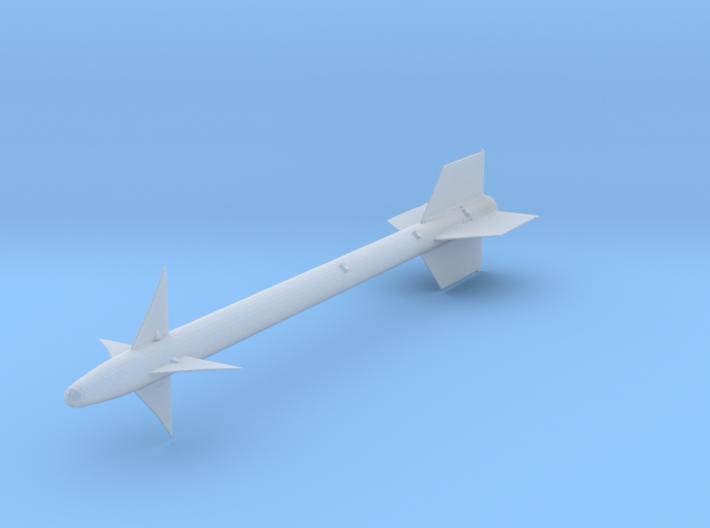 1/24 AIM-9 Sidewinder Missile 3d printed