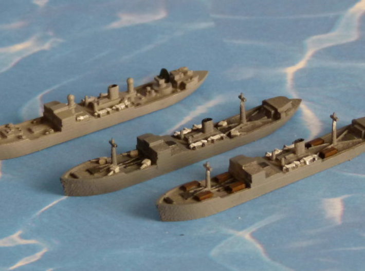 "German Auxiliary Cruiser HSK ""Coronel"" 1/2400 3d printed Add a caption..."