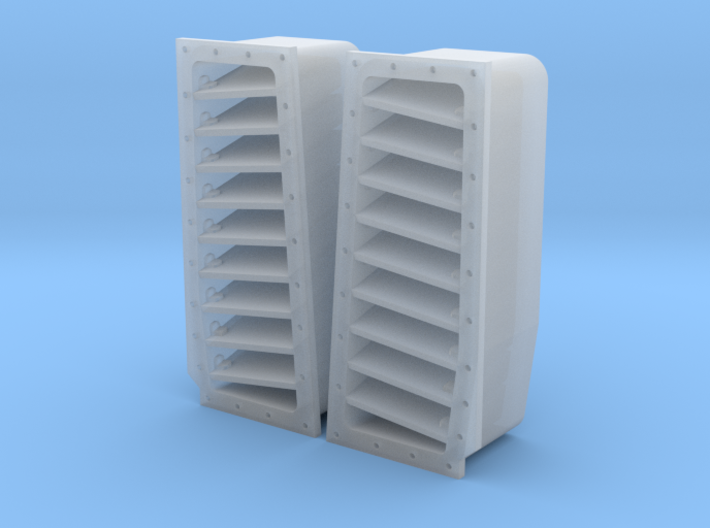 3204 - F-14A/B/D Tomcat fuselage top louvers 3d printed