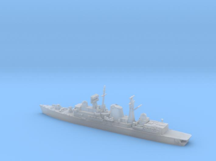 1/1800 HMS Sheffield 3d printed
