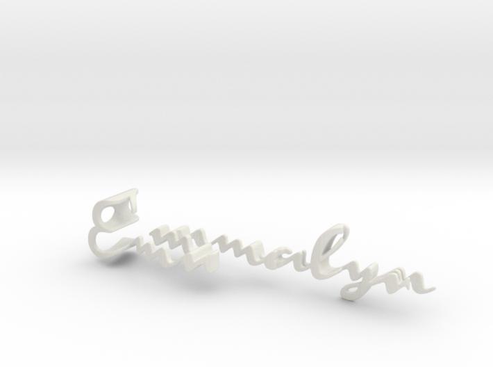 3dWordFlip: Emmalyn/Rose 3d printed