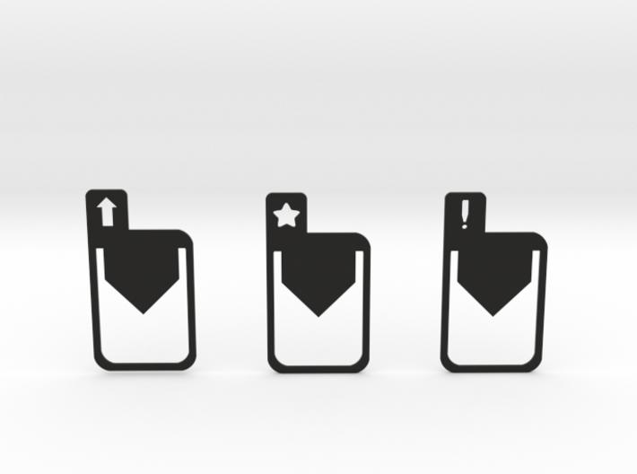 Bookmarks 3d printed