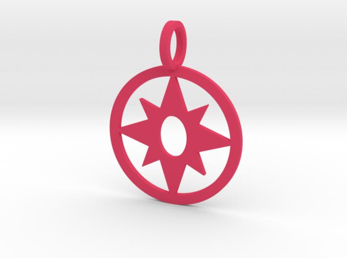 Star Sapphire Pendant 3d printed