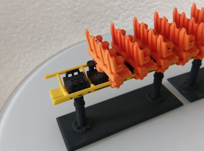 Front train small 3d printed
