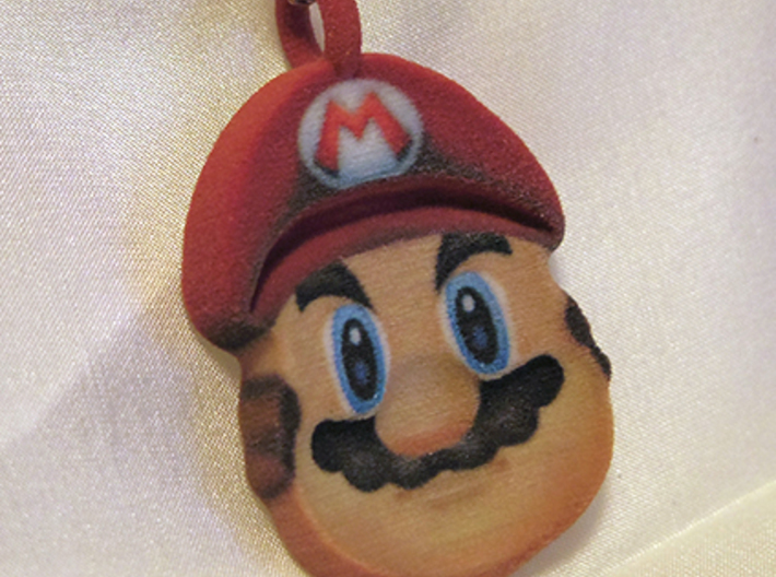Mario Illusion Pendant - 50mm 3d printed